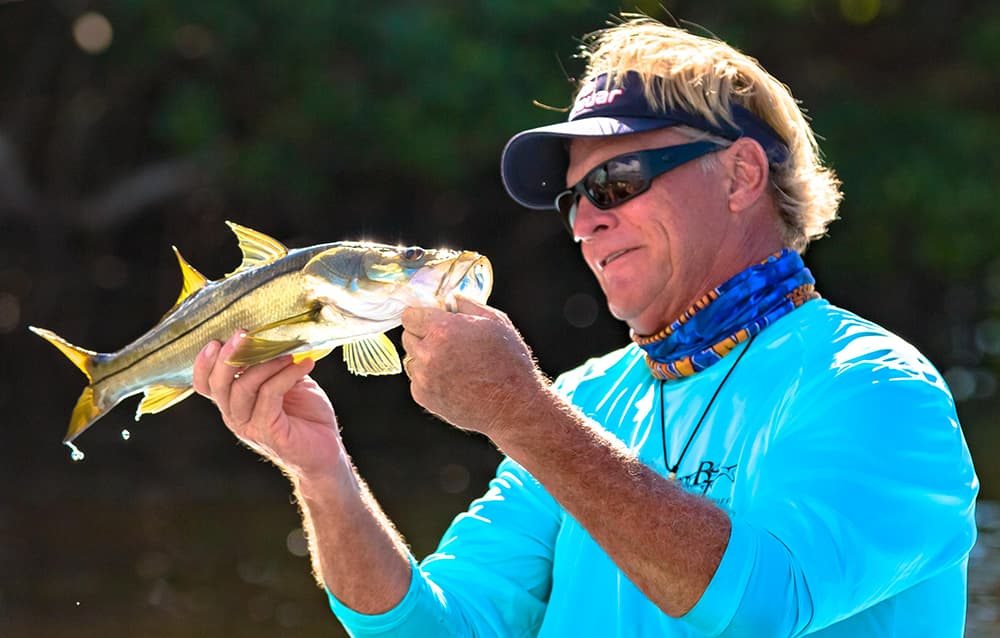 Capt Blair Wiggins Snook Fishing