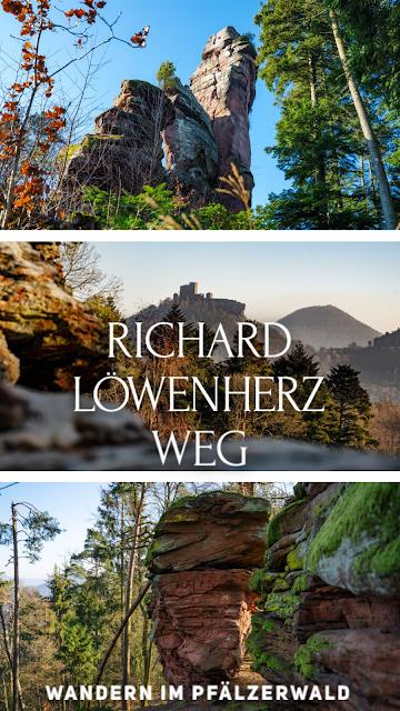 Richard-Löwenherz-Weg  Annweiler am Trifels  Wandern Südliche Weinstraße  Wanderung Pfälzerwald 07