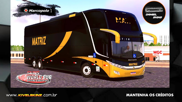 PARADISO G7 1600 LD - VIAÇÃO MATRIZ TRANSPORTES