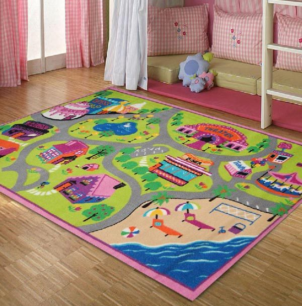 Karpet Lucu dan Cantik untuk Anak
