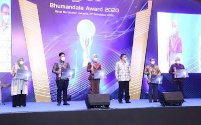 Palembang Kembali Menorehkan Prestasi Raih Penghargaan Bhumandala Ariti