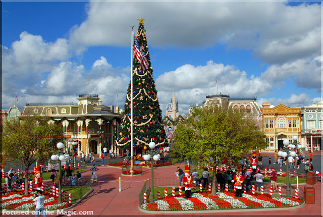 Magic Kingdom Christmas Focused on the Magic