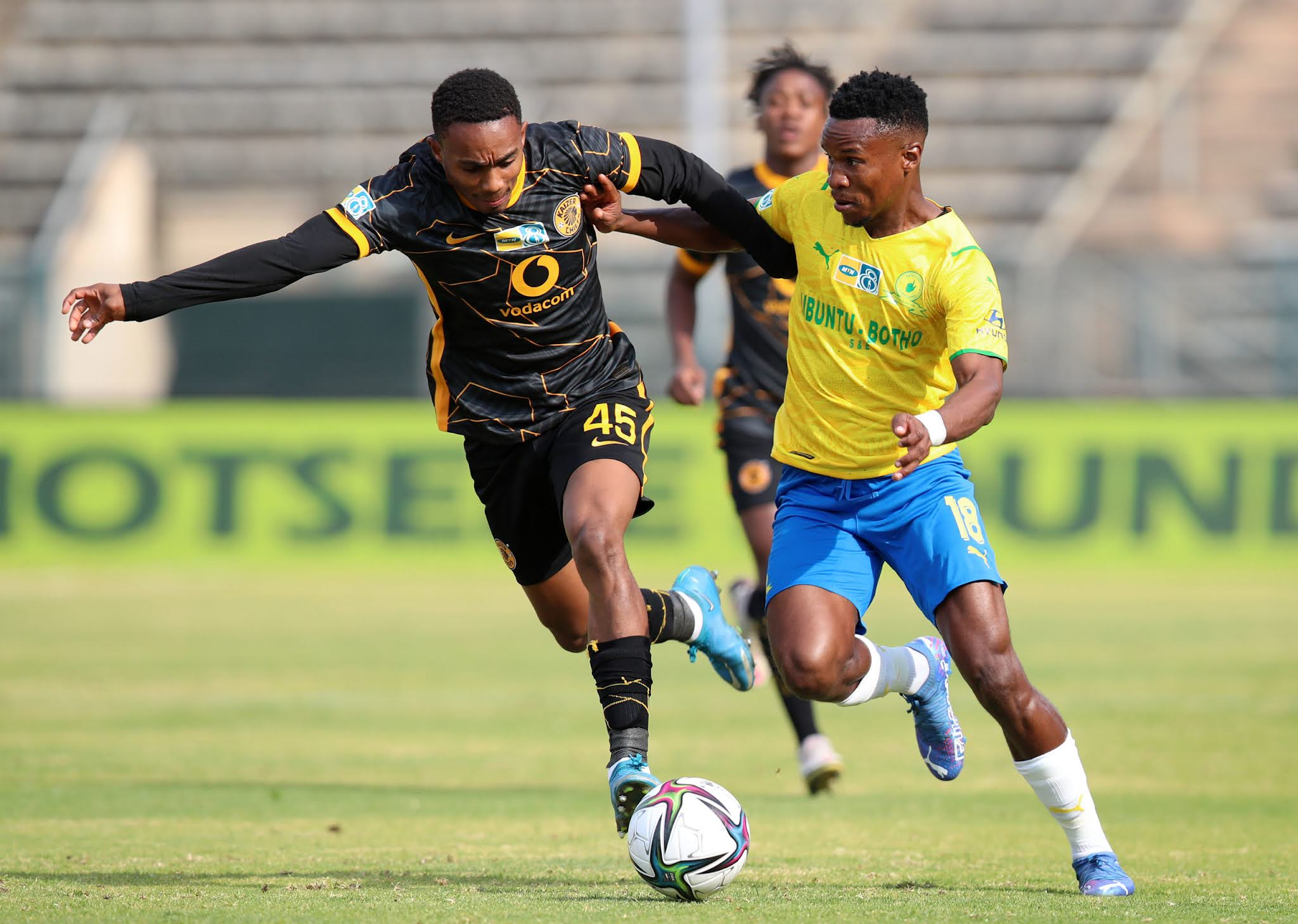 Njabulo Blom and Themba Zwane