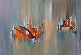 fidela losada florez pintura paisajes abstractos