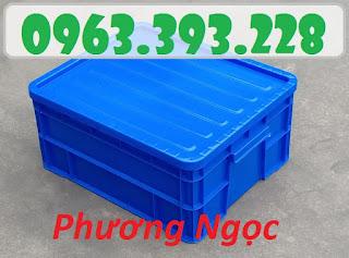 Thùng nhựa đặc B8 có nắp, hộp nhựa B8, khay nhựa đựng đồ E2e78a10ac72562c0f63