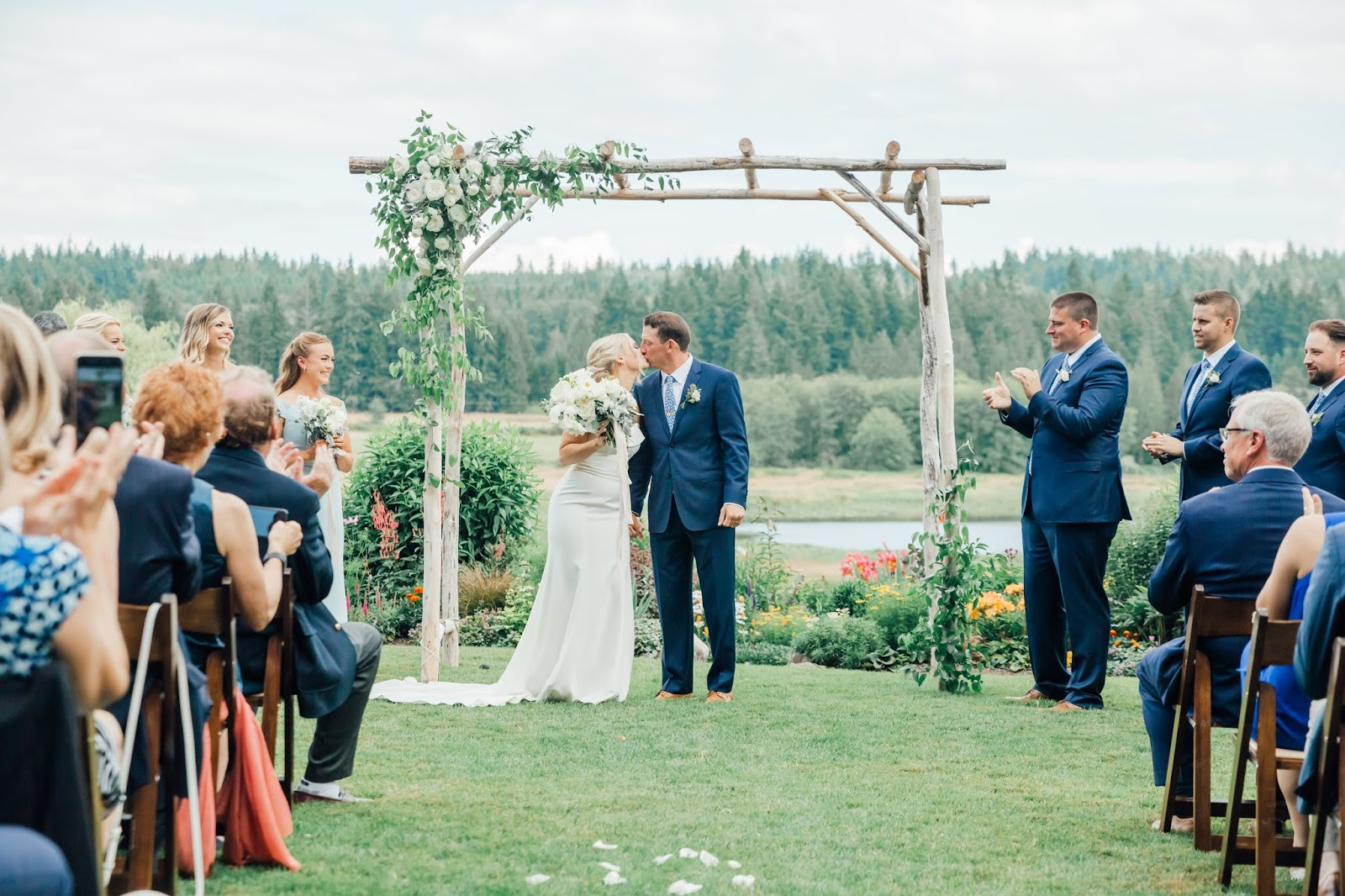Whidbey Island Wedding Photographers-Fireseed Catering Wedding-Something Minted Photography