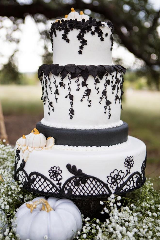 Glamorous Halloween Wedding Inspiration