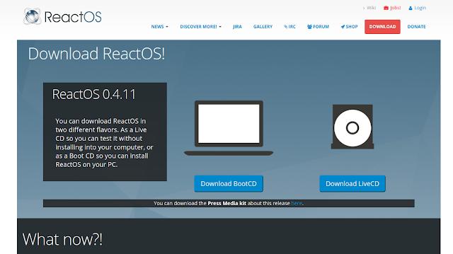 Lanzada nueva versión de ReactOS, el sistema operativo libre compatible con Windows