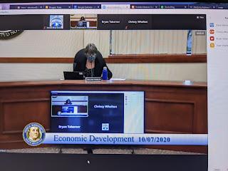 Economic Development Meeting Recap - Oct 7, 2020