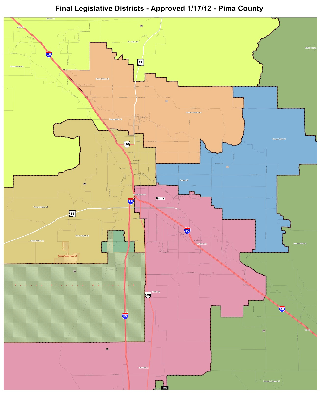 Map Of Arizona Voting Districts.Preliminary Guide To Az S Congress And Legislative Elections Blog