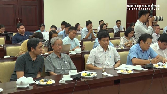 Lãnh đạo TPHCM họp mặt báo chí đầu năm 2019 ảnh 3