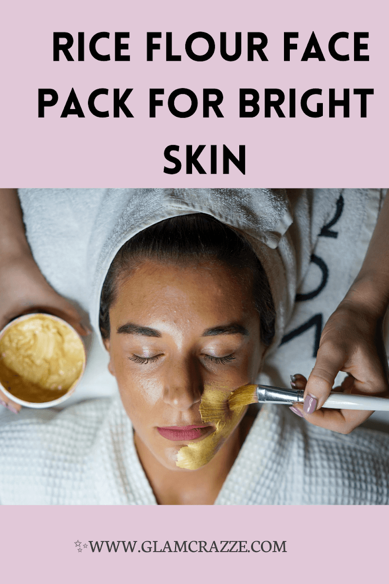 6 different rice flour face pack for bright skin