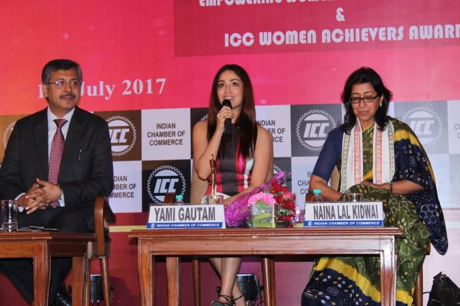 Yami Gautam attends ICC Women Achievers Award 2017 at Hotel Leela