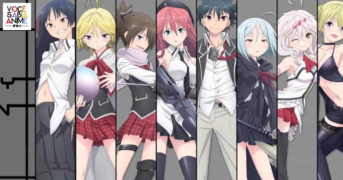 Autor de Trinity Seven anuncia novo mangá