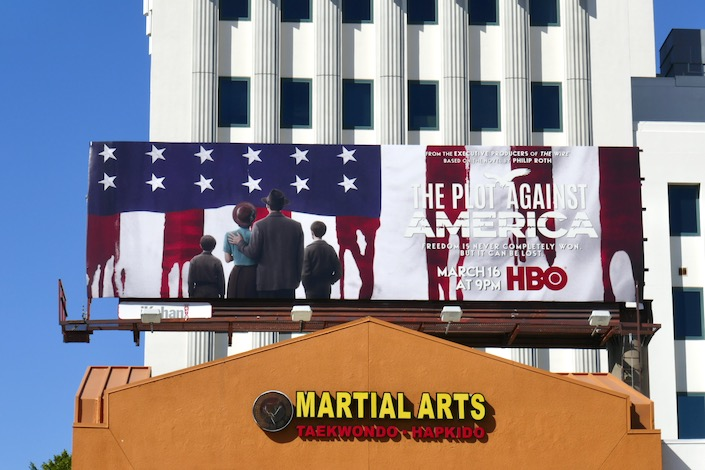Plot Against America series billboard