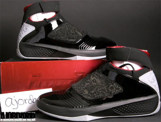 huge discount 0ce41 a4c76 Air Jordan XX Black Varsity Red-Stealth (2005)