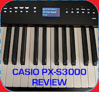 Casio PX-S3000 digital piano review