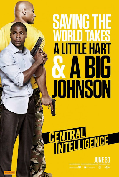 Poster Of Central Intelligence 2016 720p HC HDRip Full Movie Download