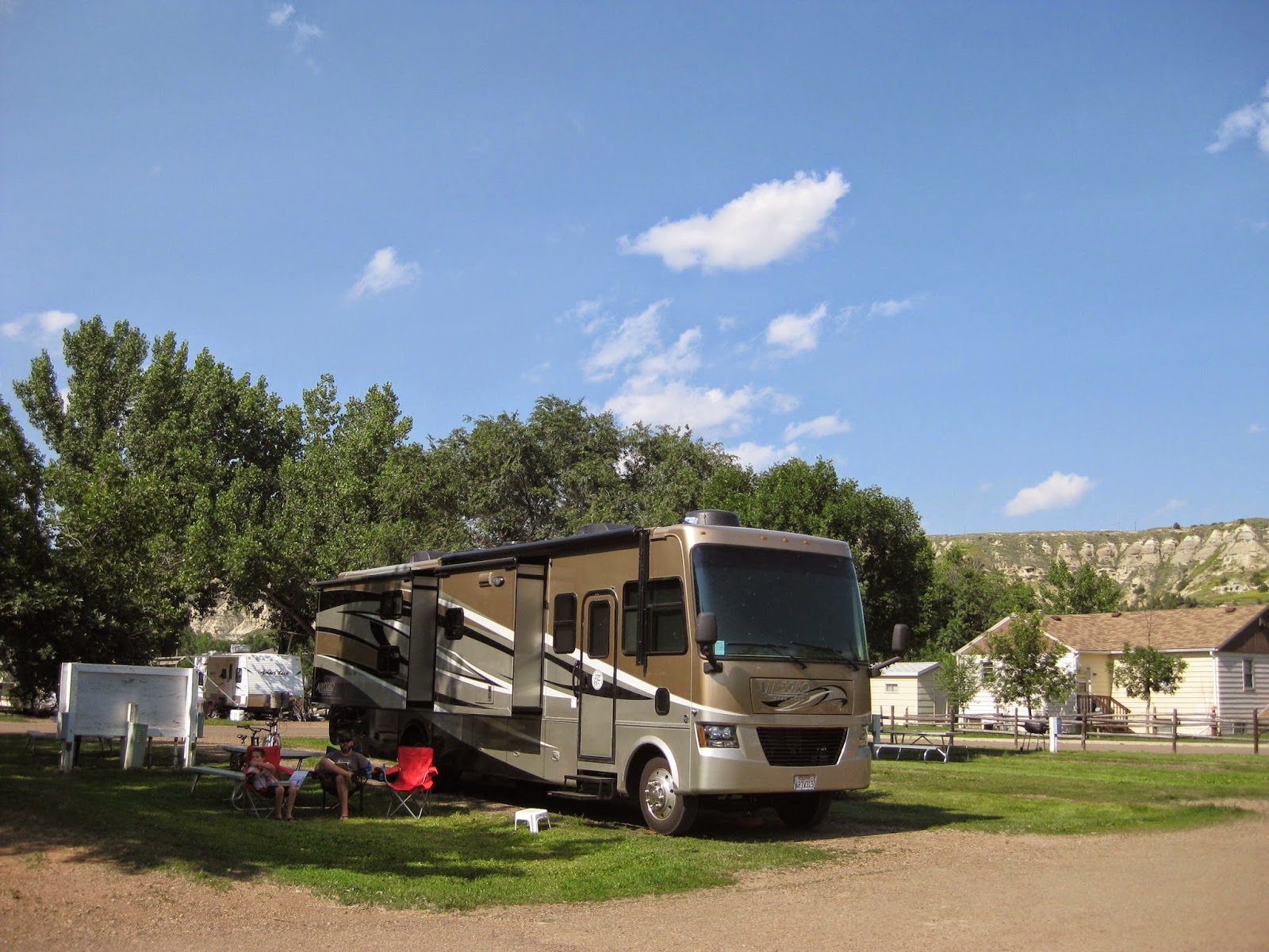 Campgroundcrazy Red Trail Campground Medora North Dakota