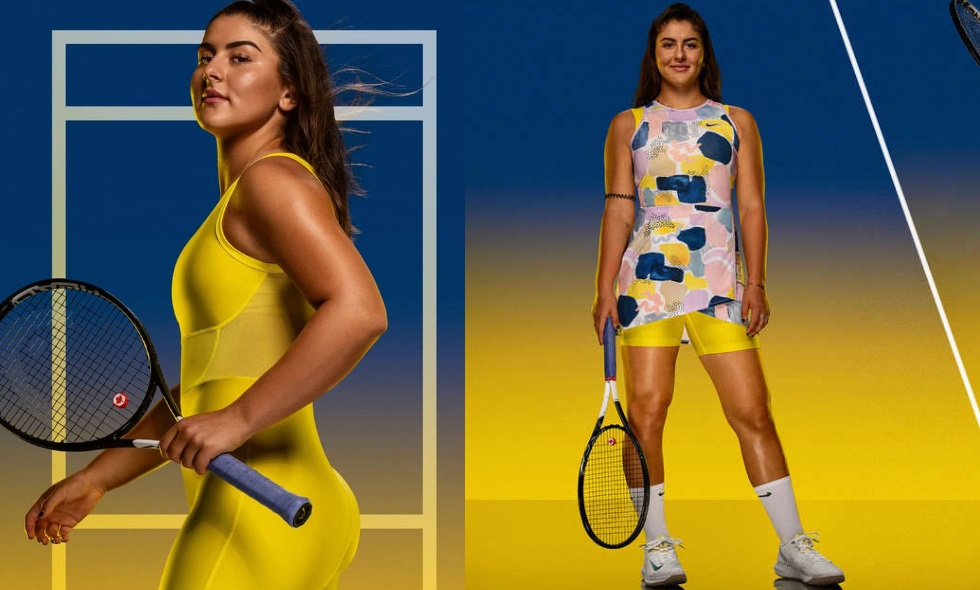 Andreescu's fashion for Australian open 2020