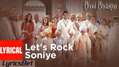 Let's Rock Soniye Lyrics - Tulsi Kumar, Shaan