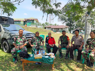 Dandim Singkawang : Dengan Silaturahmi Kemanunggalan TNI-Rakyat Semakin Mantap
