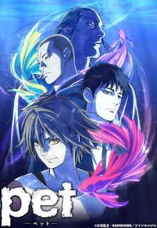 "Anime: Nuevo vídeo promocional del anime ""Pet"" de Ranjō Miyake"
