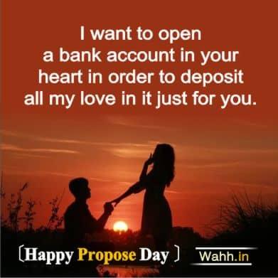 Happy Propose Day Greetings Hindi
