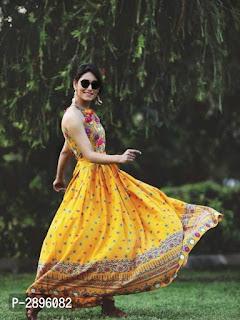 Elegant Rayon Women's Kurti
