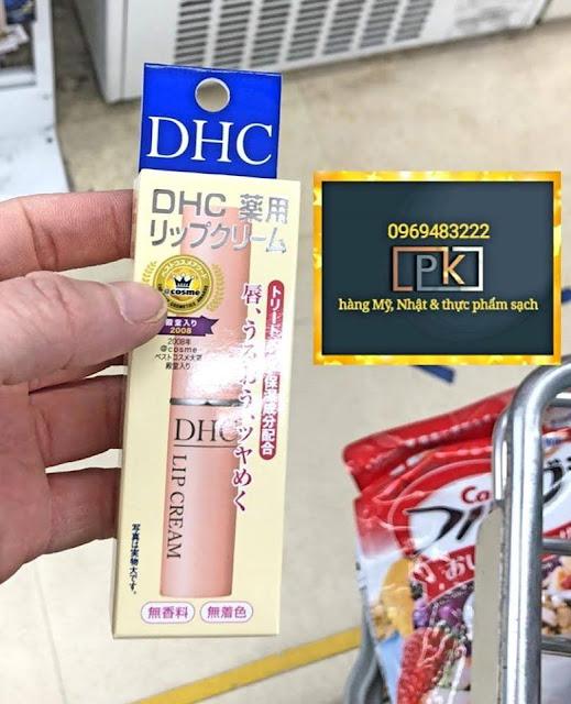 Son môi / dưỡng môi DHC, hàng Nhật