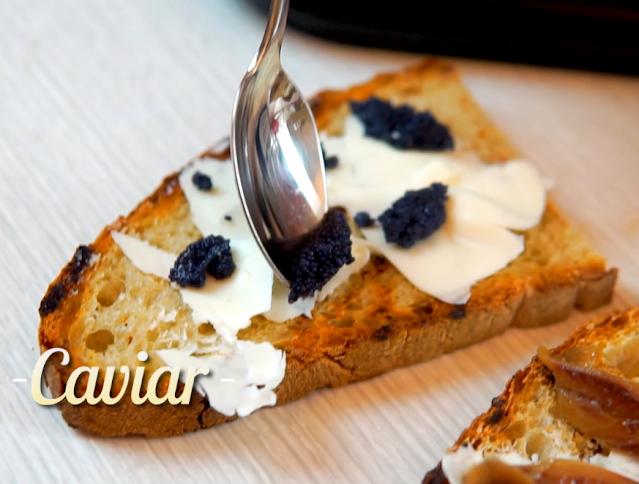 Bruschetta With Caviar