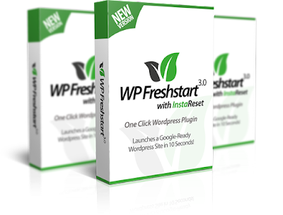 [GIVEAWAY] WP Freshstart 3.0 +Bonuses [UNLIMITED SITES LICENSE ]