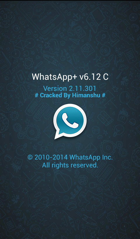 Descargar whatsapp+ V6.12C Full APK (Gratis)