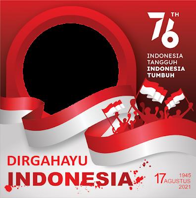 Link Download Logo ,  Twibbon Hut RI 17 Agustus 2021 PNG