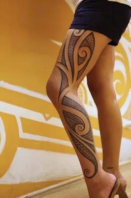 Polynesian tattoo sleeve designs