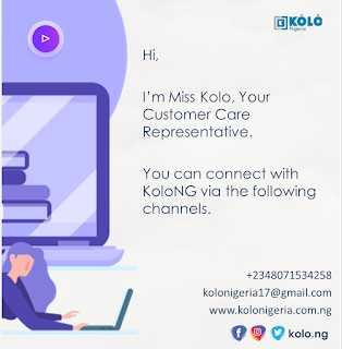 Kolo Nigeria Customer Representative