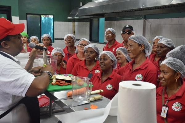 Comedores Económicos y Programa Mundial de Alimentos realizan noveno ...