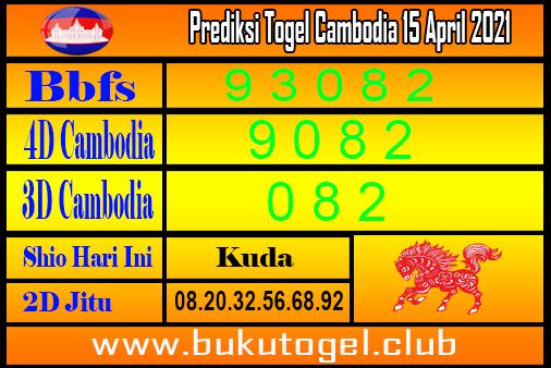 Prakiraan Kamboja 15 April 2021