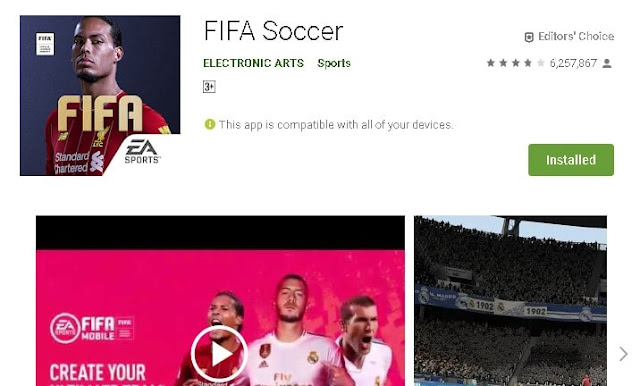 Top 10 best football game for android 2020