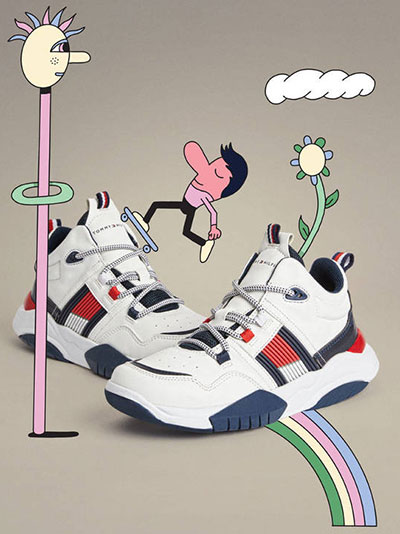 zapatillas deportivas niños Tommy Hilfiger 2020