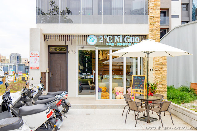 MG 3252 - 熱血採訪│2度C Ni Guo,30+層的蛋皮在公益路就能吃得到,7/1起父親節整顆千層蛋糕也開放預購囉!