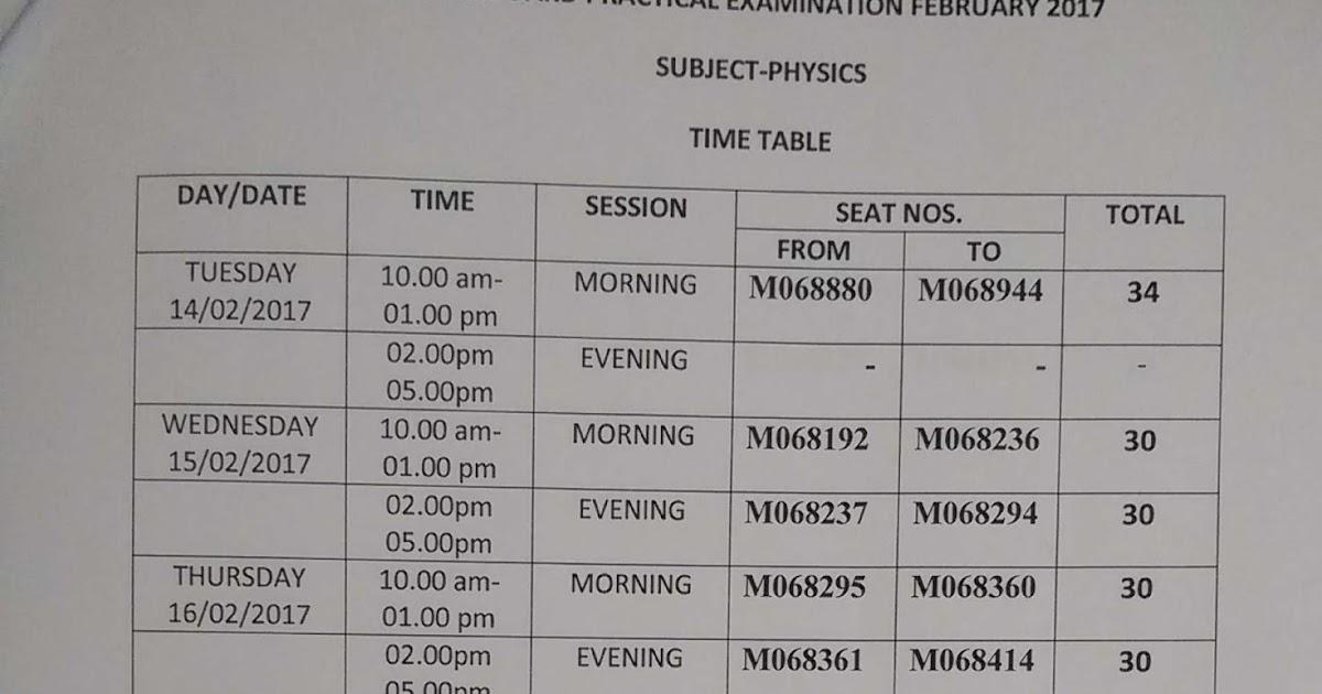 hsc exam timetable 2017 pdf