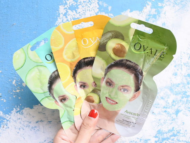 Ovale Facial Mask Series