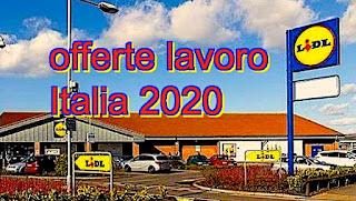 Offerte lavoro LIDL Italia - adessolavoro.com