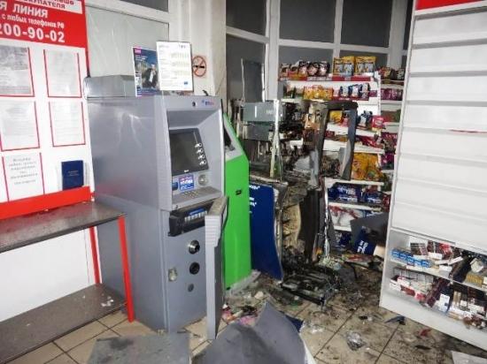 В Дюртюлях мужчина взорвал банкомат