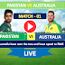 Watch Live match Australia vs Pakistan- 1st T20 match , Pakistan Tour of Australia 2019