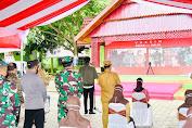 Panglima TNI Dampingi Presiden RI Resmikan Proyek Strategis Nasional di Sulsel