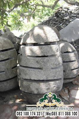 Harga Lampu Taman Bahan Batu Alam, Jual Lampu Taman Bahan Batu Alam, Lampu Taman