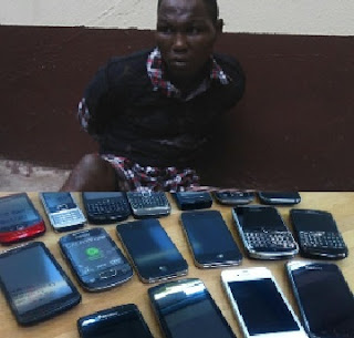 SHOCKER: Boko Haram Prisoner Caught With 25 Mobile Phones SparkS Kuje Prison Riot