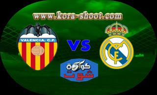مشاهدة مباراة  ريال مدريد وفالنسيا بث مباشر 03-04-2019 الدوري الاسباني